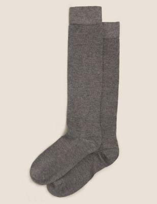 2pk Soft Knee High Socks