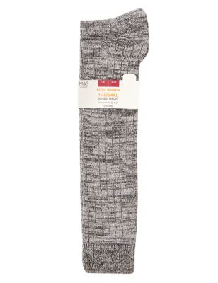 2pk Sumptuously Soft™ Thermal Knee High Socks