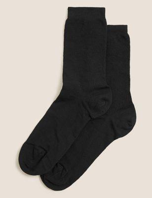 2pk Blister Resist Ankle High Socks