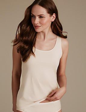 Flexifit Built-up Shoulder Vest, ALMOND, catlanding