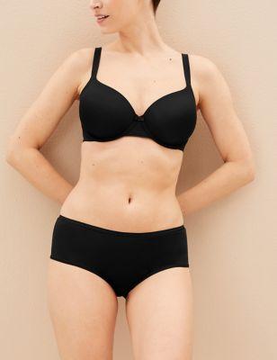 5pk No VPL Microfibre Low Rise Shorts