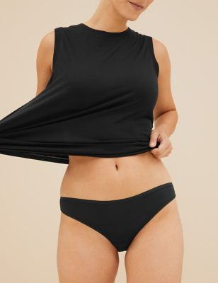5pk No VPL Microfibre Low Rise Bikini Knickers
