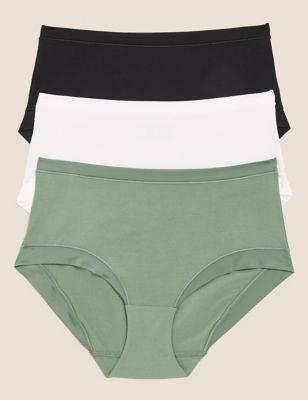 3pk Flexifit™ Modal High Rise Shorts