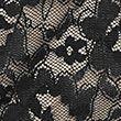 3pk Lace High Leg Knickers - black