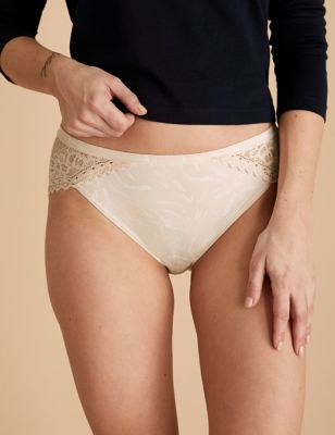 3pk Sumptuously Soft High Leg Knickers