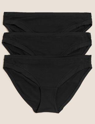 3pk Flexifit™ Modal Bikini Knickers