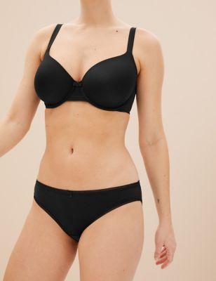 5pk Cotton Lycra® Bikini Knickers