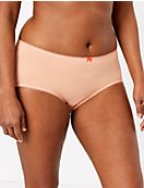 5 Pack Cotton Lycra® Midi Knickers