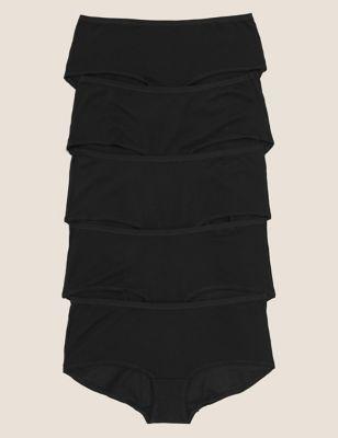 5pk No VPL Cotton Modal Shorts