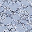 No VPL Printed Lace Low Rise Shorts - bluemix