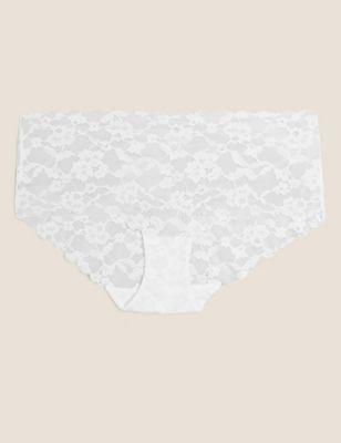 No VPL Free Cut Lace Low Rise Shorts