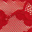 No VPL Free Cut Lace Brazilian Knickers - redcurrant