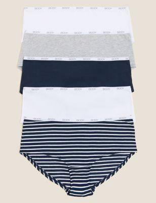5pk Premium Body Logo Knicker Shorts