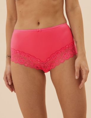 3pk Lace High Rise Shorts