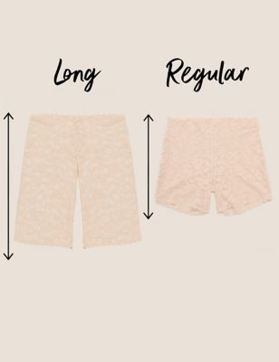 No VPL All Over Lace Cycling Short