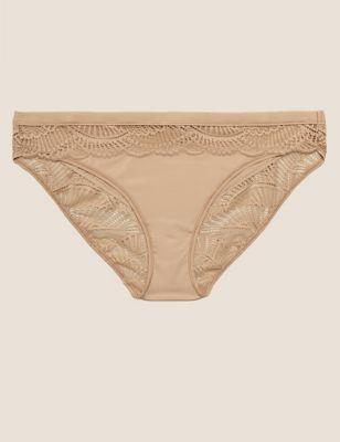 Lace Low Rise Bikini Knickers