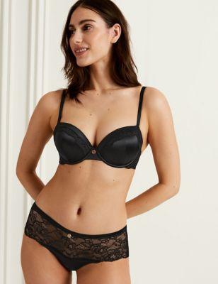 Silk & Lace Shorts
