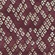 Snake Lace Thong - purple