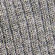 Ribbed High Leg Lounge Knickers - greymarl