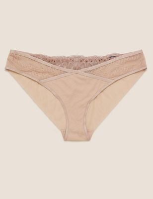 Nouveau Embroidered Brazilian Knickers