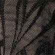 Nouveau Embroidered Underwired Plunge Bra F-H - blackmix