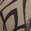 Nouveau Embroidered Padded Balcony Bra A-E - blackmix