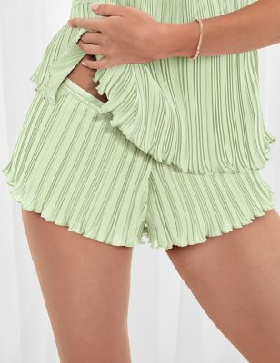 Pleat & Lace French Knickers