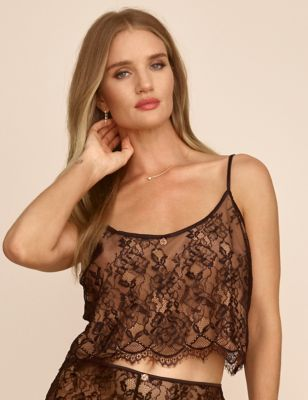 Ophelia Lace Cropped Camisole