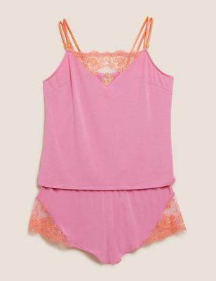 Blossom Embroidered Cami Set