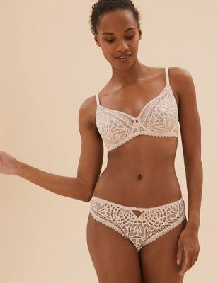 Joy Lace Underwired Full Cup Bra A-E