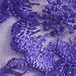 Layla Embroidery High Leg Knickers - purple