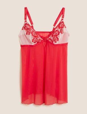 Layla Embroidery Strappy Babydoll