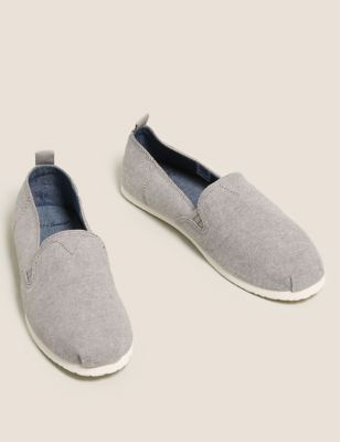 Canvas Slip-On Espadrilles