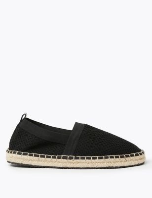 Knitted Mesh Espadrilles