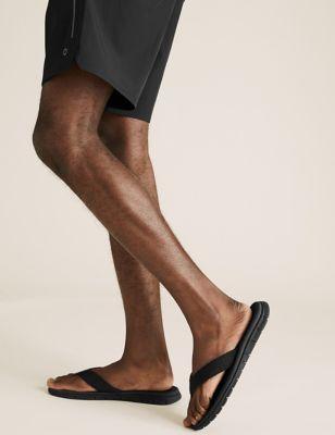 Woven Strap Sport Flip Flops