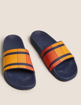 Striped Sliders