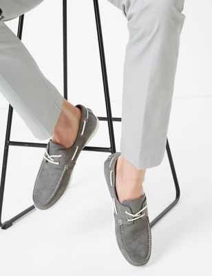 Perforated Boat Shoes