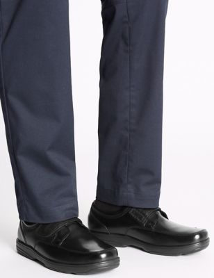 Big & Tall Wide Leather Shoes