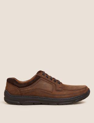Wide Fit Airflex™ Leather Shoes