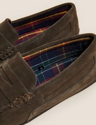 Suede Slippers with Freshfeet™