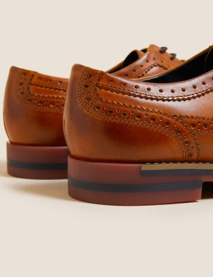 Leather Trisole Brogues