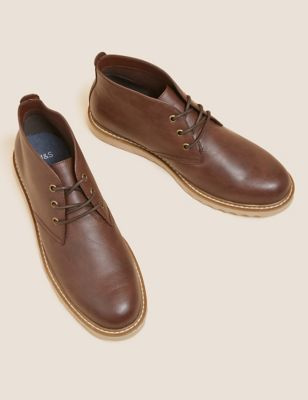 Leather Chukka Boots