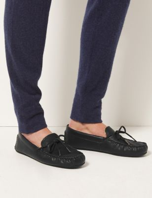 Moccasin Slippers with Freshfeet™