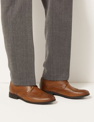 Airflex™ Leather Brogues