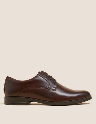 Airflex™ Leather Derby Shoes
