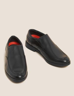 Airflex™ Leather Slip On Shoes