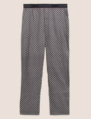 Cotton Tencel™ Woven Pyjama Bottoms