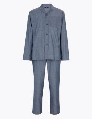 Cotton Chambray Pyjama Set