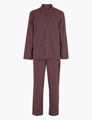 Cotton Paisley Print Pyjama Set