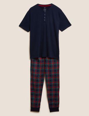 Supersoft Checked Pyjama Set